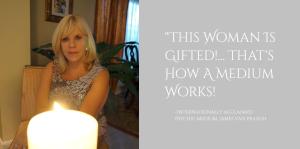 Quote by internationally acclaimed psychic medium James Van Praagh about Brenda Ridgeway, international psychic medium.