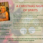 Upcoming Dec 17th – A Christmas Night of Spirits